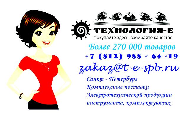 ТЕХНОЛОГИЯ-Е, Электротехническая продукция